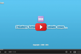 How to setup gallery in few simple steps